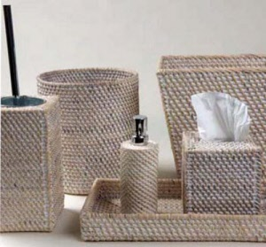 White Wash Palm Baskets Amp Accessories