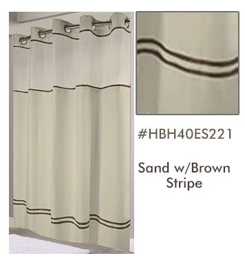 Hookless 174 Fabric Shower Curtains With Snap Liners Amp Windows